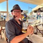 Bluesman in Holiday 😎 #holiday #dovolena #relaxtime #bluesman #bluesmanstyle #bluesismyreligion #bluesismylife #piper #bier #fajfka #dýmkař #acoustic #retroblues_cz